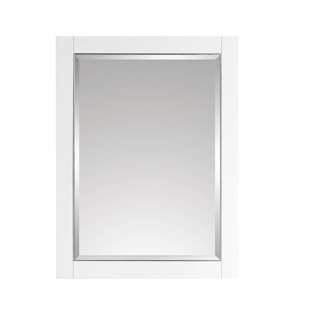 Avanity Avanity 22 in. Mirror Cabinet for Allie / Austen in White with Silver Trim
