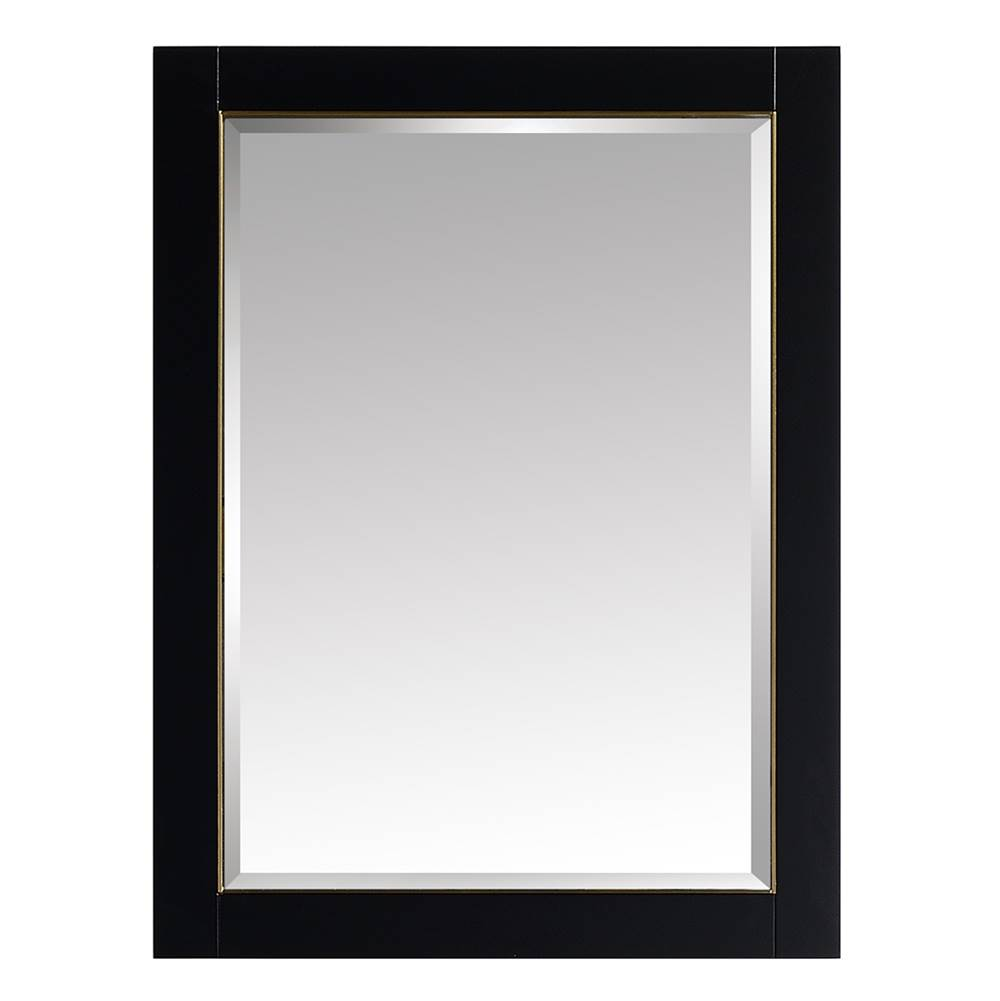 Avanity Avanity Mason 24 in. Mirror in Black with Gold Trim