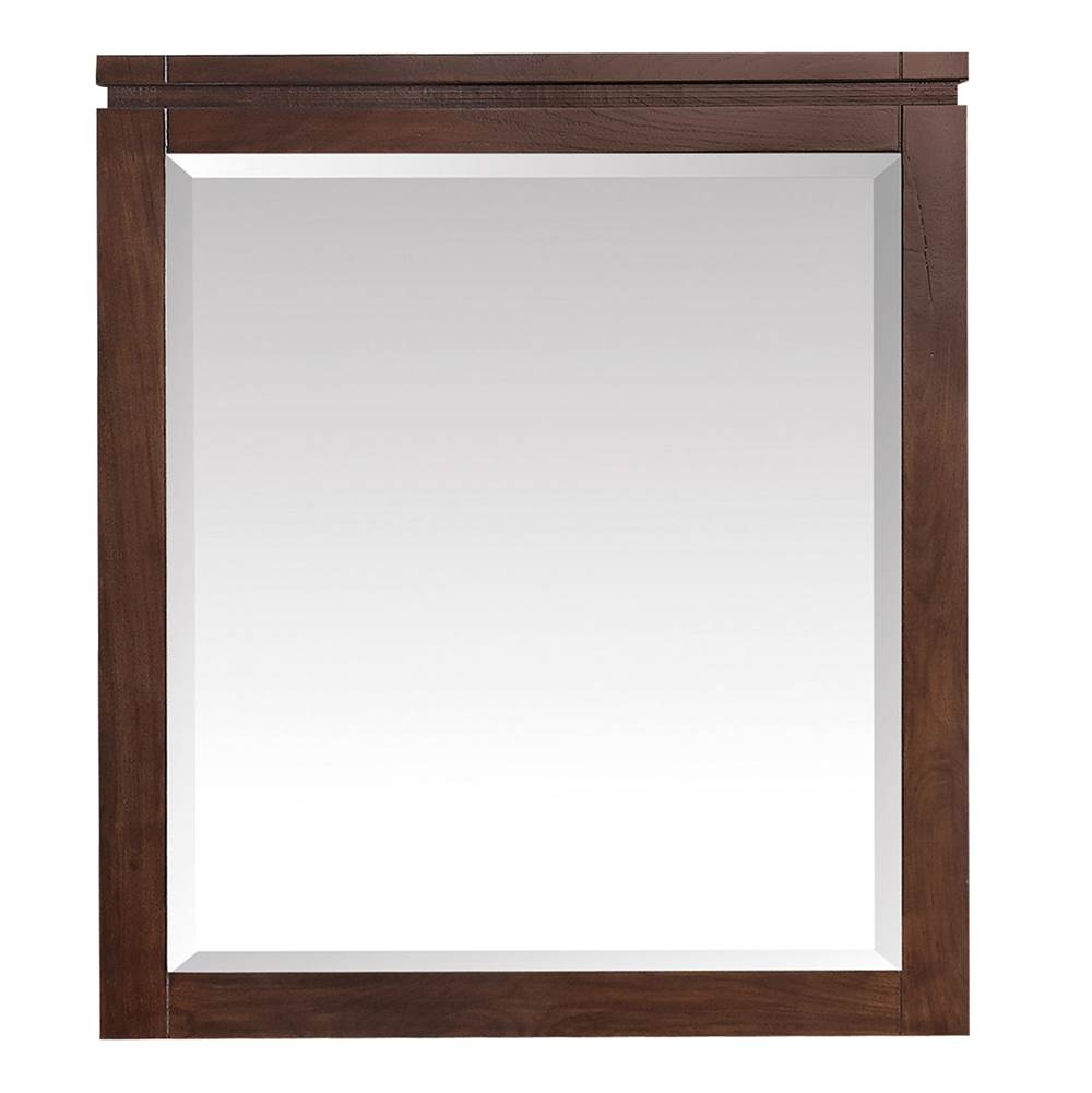 Avanity Avanity Giselle 29 in. Mirror in Natural Walnut