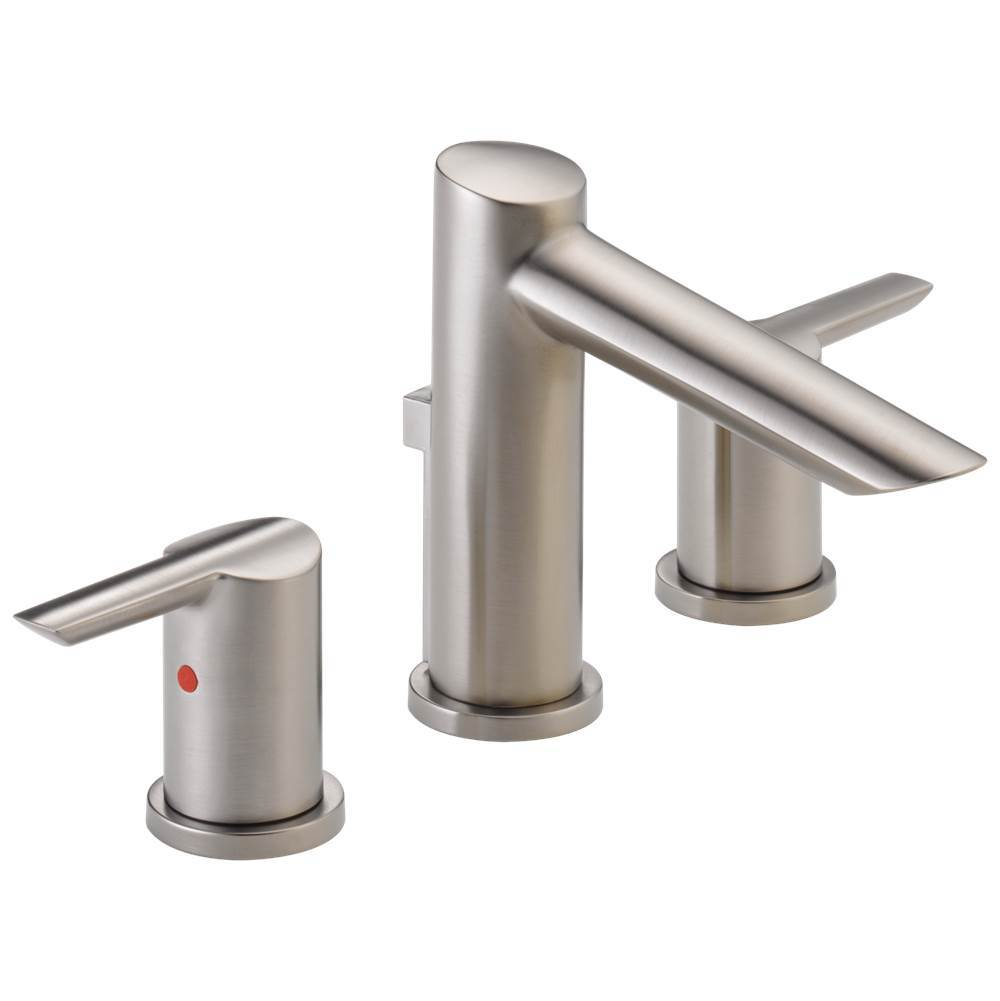 Delta Faucet Compel: Two Handle Widespread Bathroom Faucet