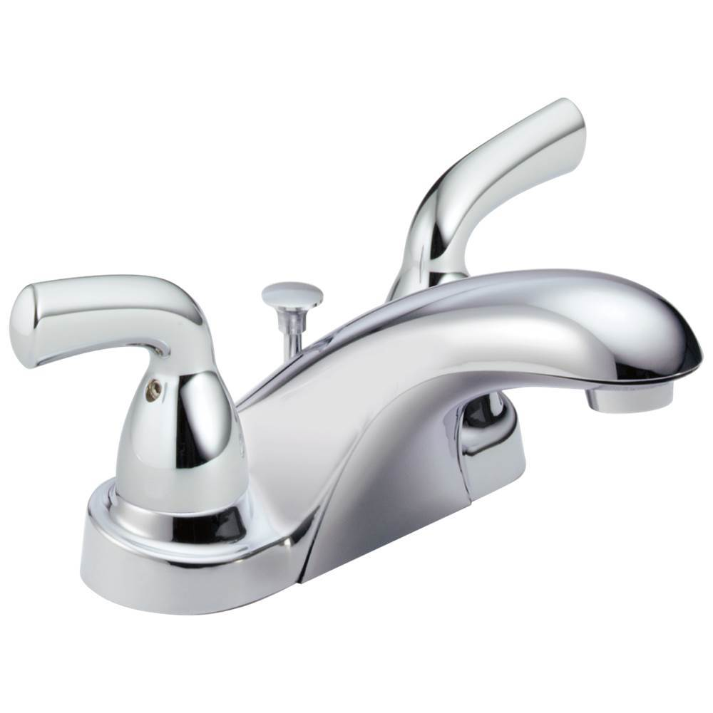 Delta Faucet Foundations: Two Handle Centerset Bathroom Faucet
