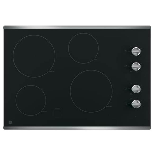 GE Appliances GE 30'' Built-In Knob Control Electric Cooktop