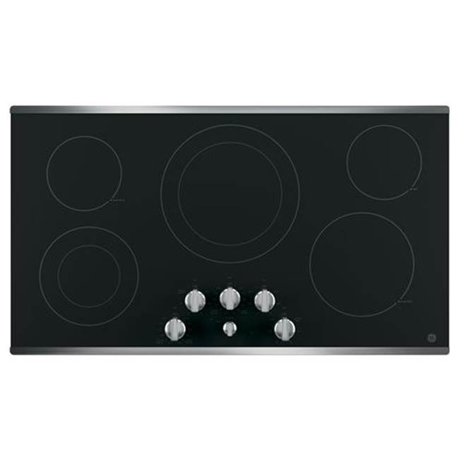 GE Appliances GE 36'' Built-In Knob Control Electric Cooktop