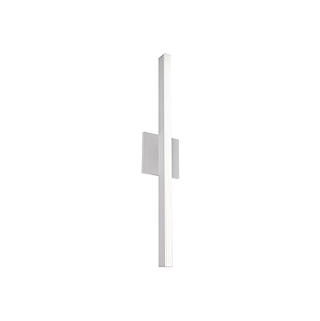 Kuzco Slim State-Of-The-Art Linear Led Wall Sconce Brings Sophistication To Any Room It Is Installed In. Available In Black, Brushed Nickel, Gold And W…