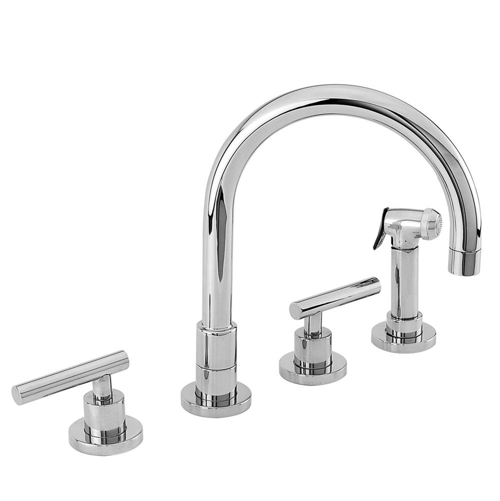 Newport Brass Kitchen Faucet With Side Spray