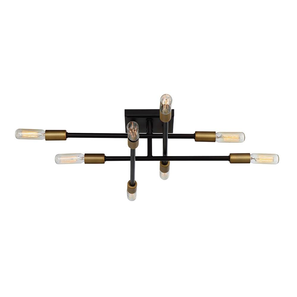 Savoy House Lyrique 8 Light Semi Flush