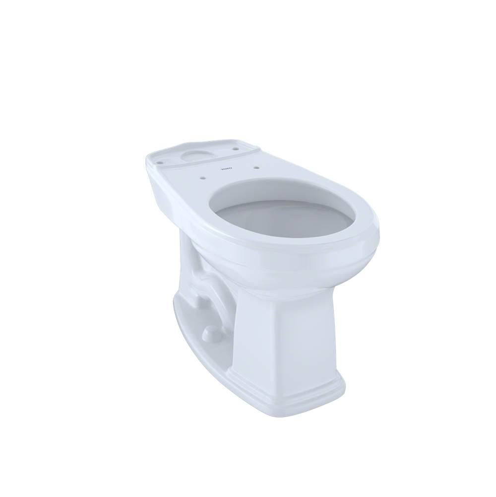 Toto Eco Promenade® and Promenade® Universal Height Round Toilet Bowl with CEFIONTECT, Cotton White