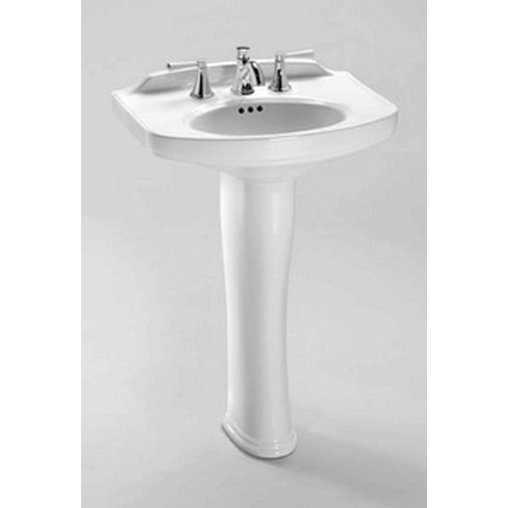 Toto Dartmouth Pedestal Lavatory 4'' Hole Faucet Spacing