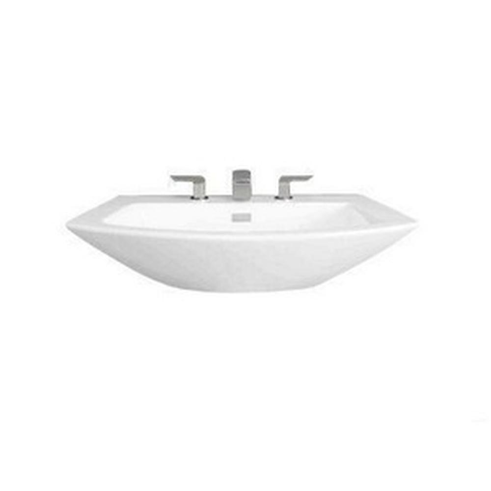 Toto Soiree 30'' Lavatory 8'' Center Colonail With Chrome Cover Plt