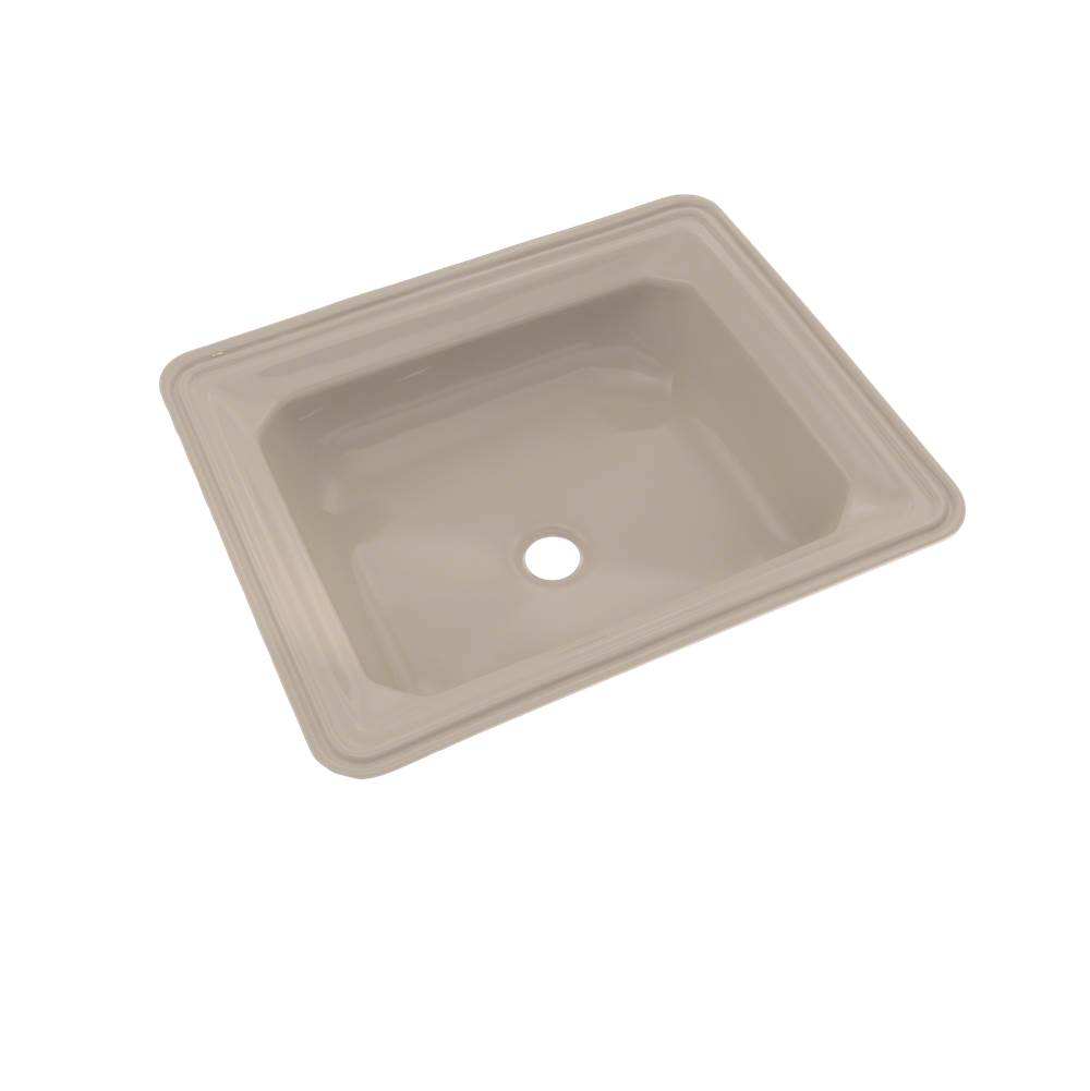Toto Guinevere® Rectangular Undermount Bathroom Sink with CEFIONTECT, Bone
