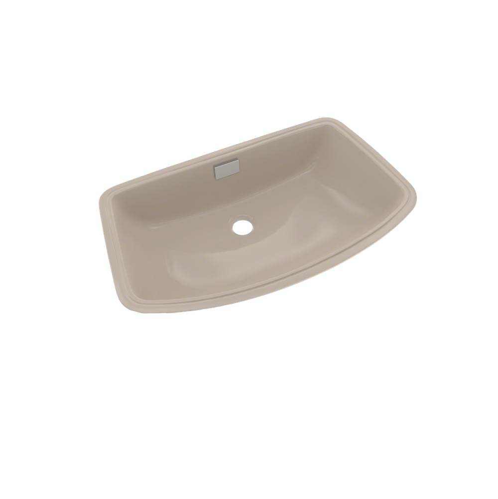 Toto Soiree® Arched Front Rectangular Undermount Bathroom Sink, Bone