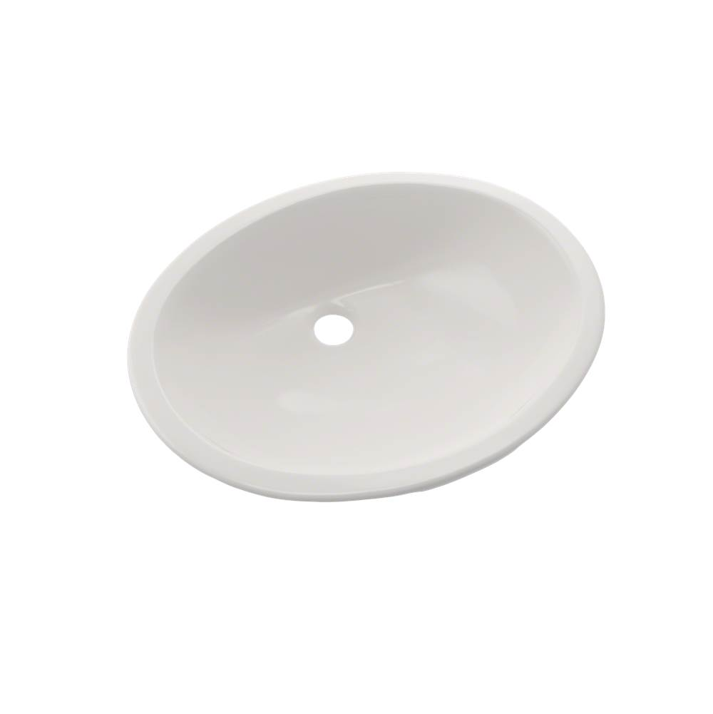 Toto Rendezvous® Oval Undermount Bathroom Sink with CEFIONTECT, Colonial White