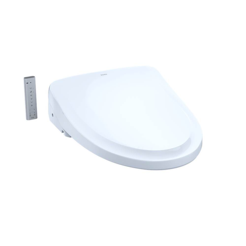 Toto WASHLET® S500e Electronic Bidet Toilet Seat with EWATER++® and Classic Lid, Elongated, Cotton White